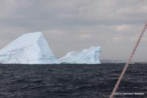 Best not to get too close to these big bergs