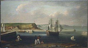 Pembroke Endeavour,_Thomas_Luny_1768