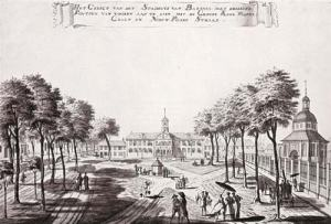 View of the Town Hall of Batavia in 1770, by Johannes Rach.