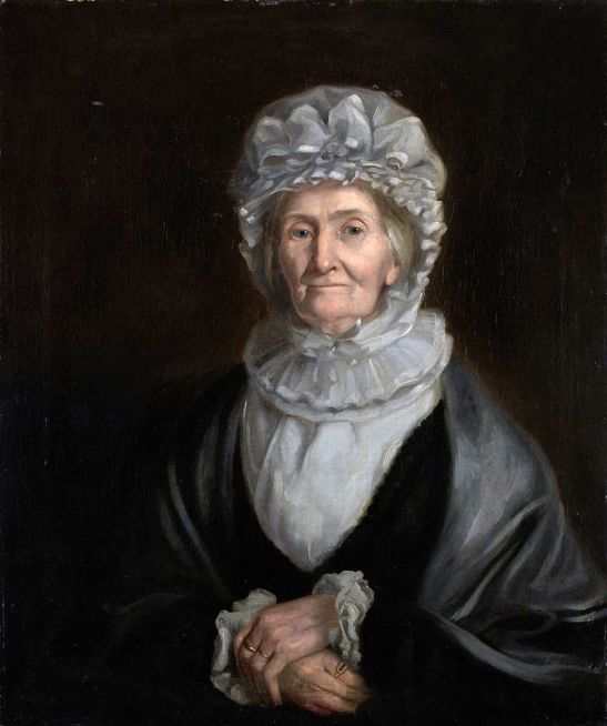 Elizabeth Batts Cook, aged 88, painted in 1830 by William Henderson
